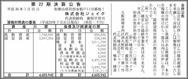 合併公示20180125