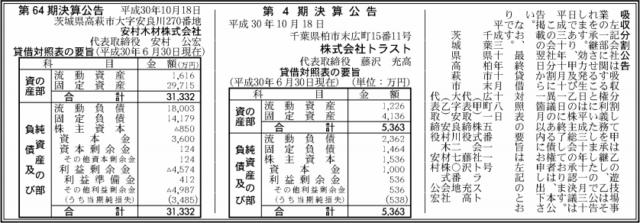 吸収分割公示20181018