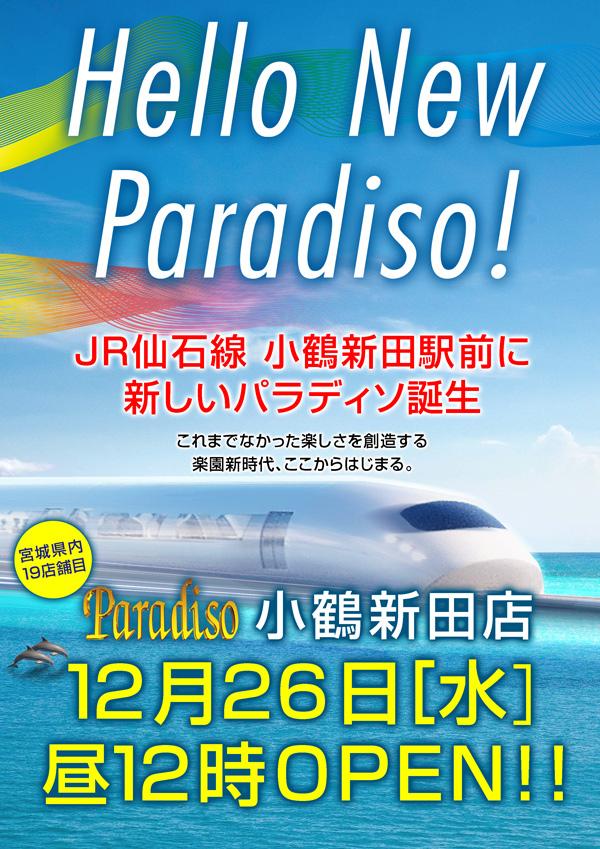 パラディソ小鶴新田店